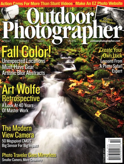 Outdoor Photographer Cover - 10/1/2014
