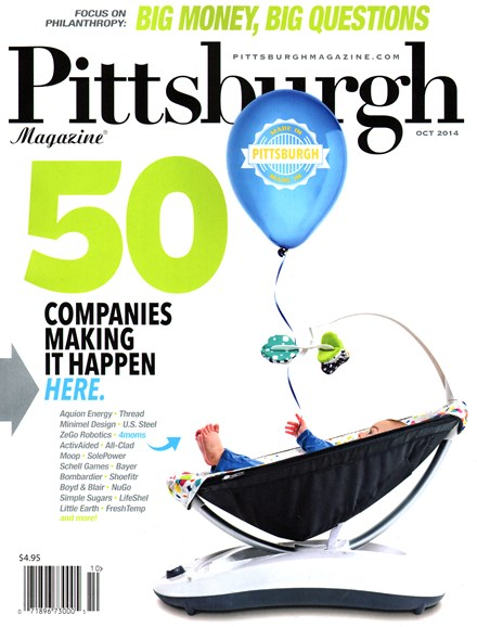 Pittsburgh Magazine Cover - 10/1/2014