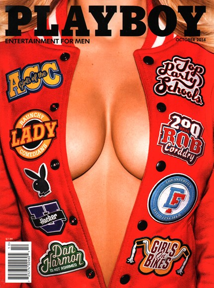 Playboy Cover - 10/1/2014