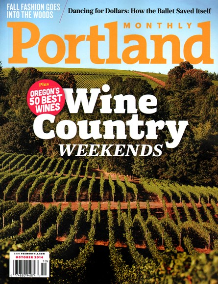 Portland Monthly Cover - 10/1/2014