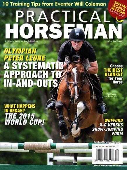 Practical Horseman Cover - 10/1/2014