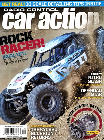 Radio Control Car Action Cover - 10/1/2014