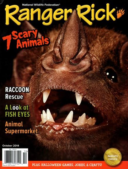 Ranger Rick Cover - 10/1/2014