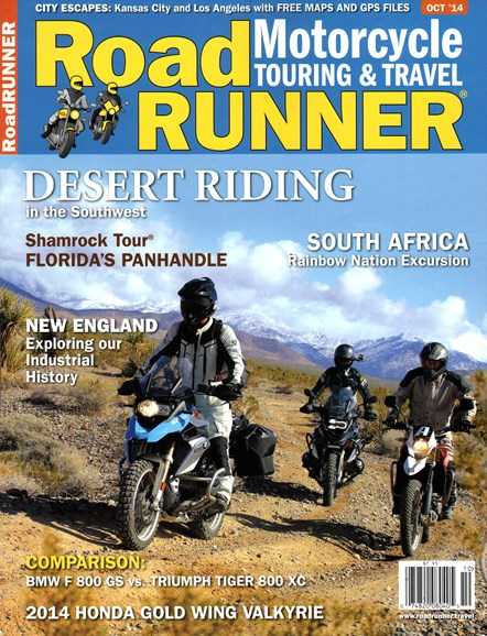 Road RUNNER Motorcycle & Touring Cover - 10/1/2014
