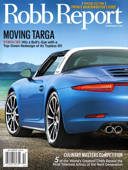 Robb Report Cover - 10/1/2014