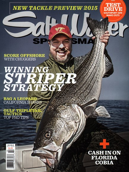 Salt Water Sportsman Cover - 10/1/2014