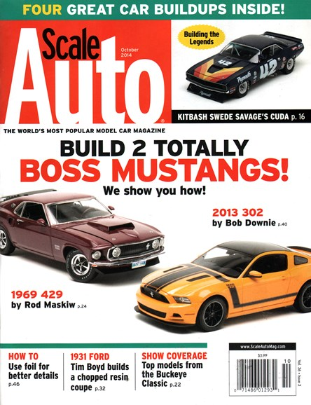 Scale Auto Magazine Cover - 10/1/2014