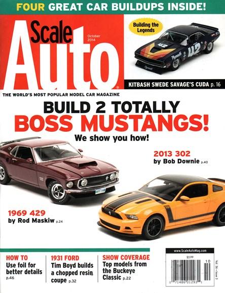 Scale Auto Magazine Cover - 10/1/2014