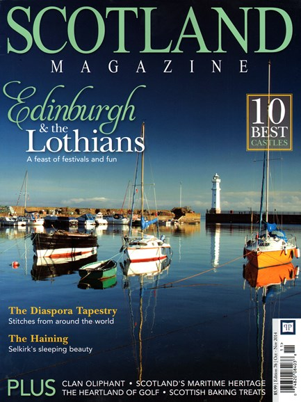 Scotland Magazine Cover - 10/1/2014