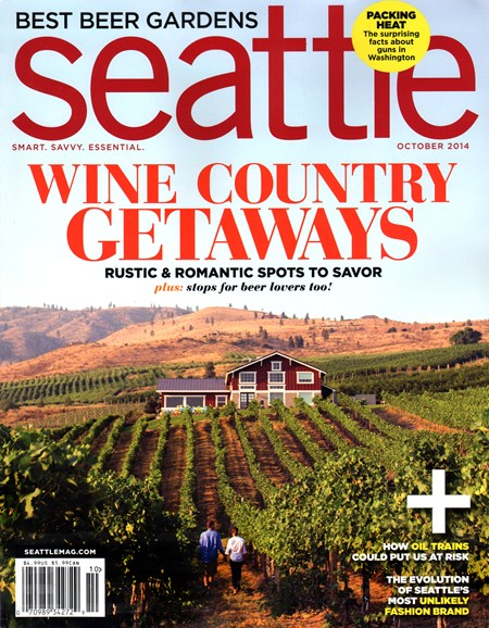 Seattle Magazine Cover - 10/1/2014