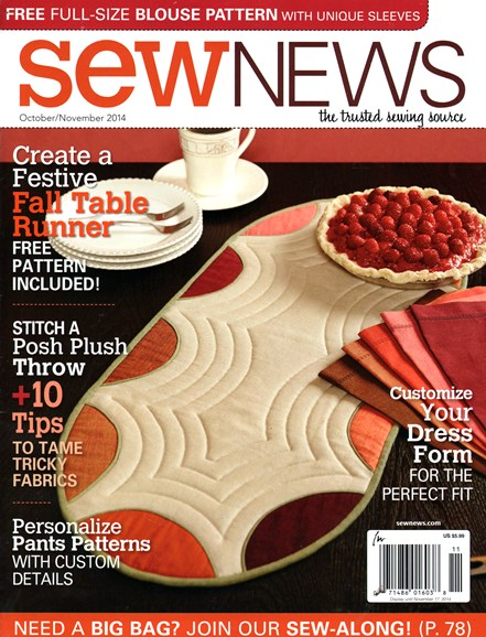 Sew News Cover - 10/1/2014