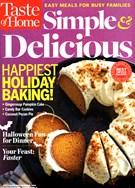 Simple & Delicious Magazine 10/1/2014