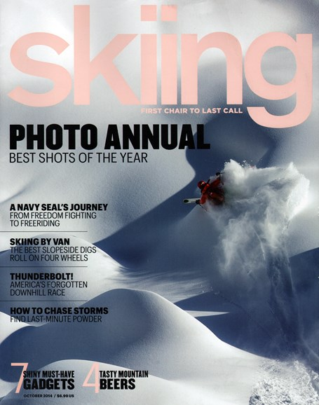 Skiing Cover - 10/1/2014