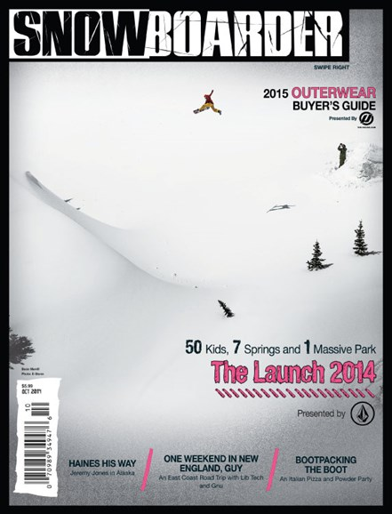 Snowboarder Cover - 10/1/2014