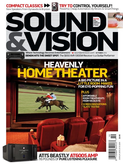 Sound & Vision Cover - 10/1/2014