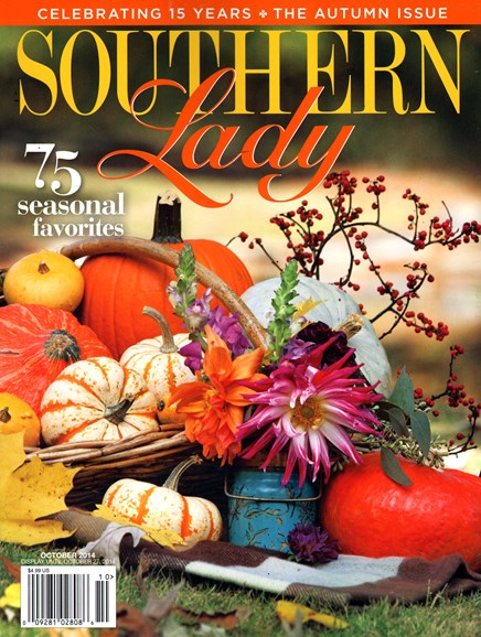 Southern Lady Cover - 10/1/2014