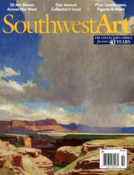 Southwest Art Cover - 10/1/2014