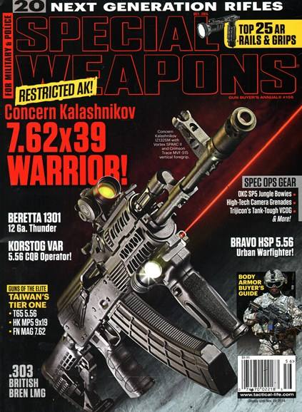 Special Weapons for Military & Police Cover - 10/1/2014