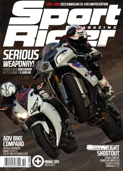 Sport Rider Cover - 10/1/2014