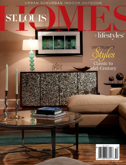 St. Louis Homes & Lifestyles Cover - 10/1/2014