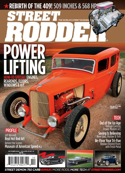 Street Rodder Cover - 10/1/2014