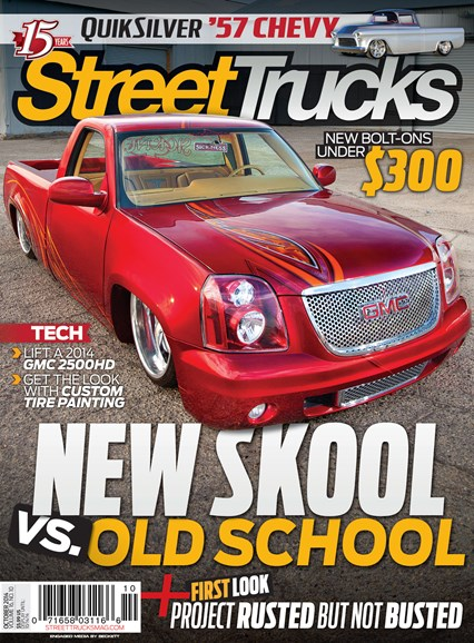 Street Trucks Cover - 10/1/2014