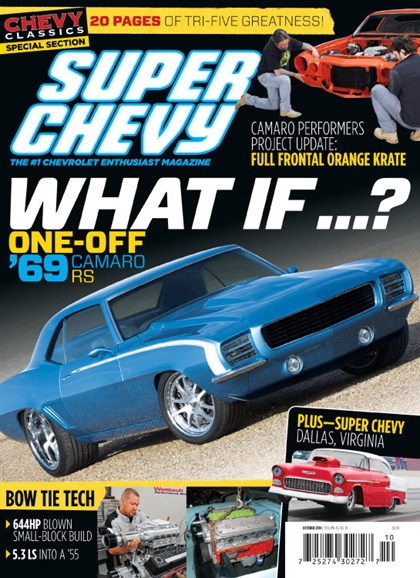 Super Chevy Cover - 10/1/2014