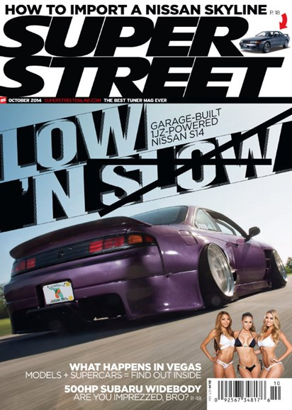 Super Street Cover - 10/1/2014