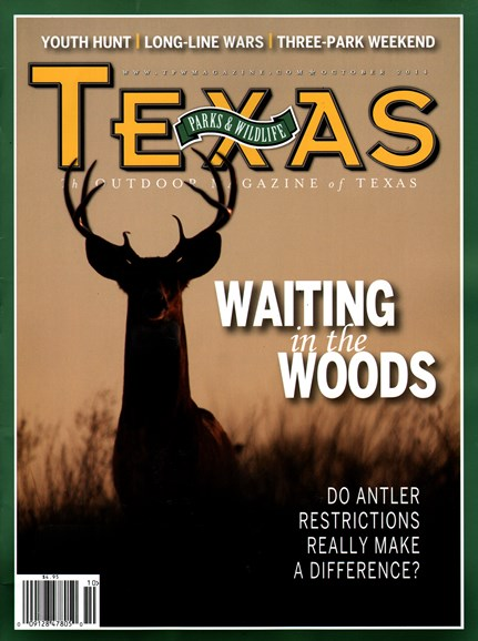 Texas Parks & Wildlife Cover - 10/1/2014