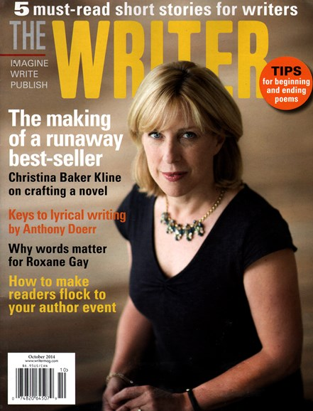 The Writer Cover - 10/1/2014
