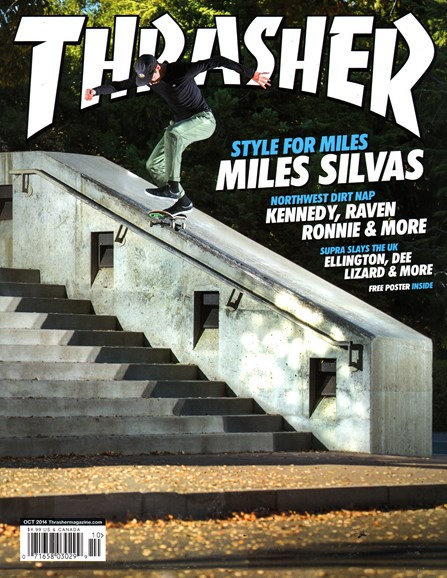 Thrasher Cover - 10/1/2014