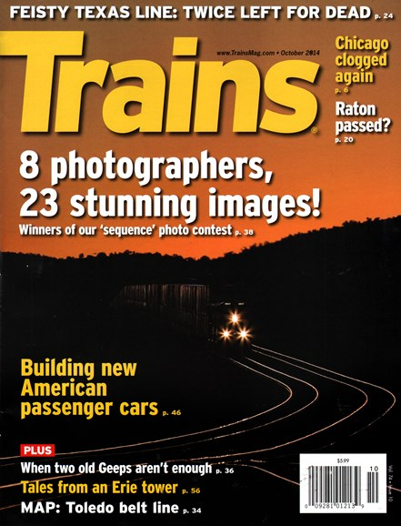 Trains Cover - 10/1/2014