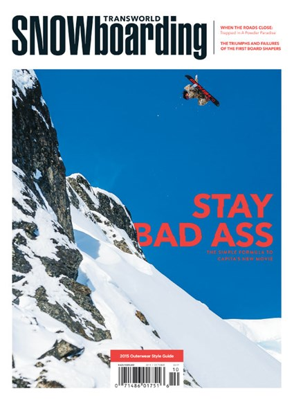 Transworld SNOWboarding Cover - 10/1/2014