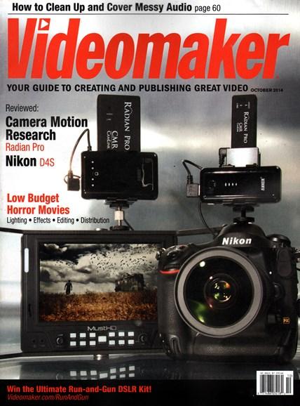 Videomaker Cover - 10/1/2014