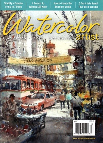 Watercolor Artist Cover - 10/1/2014