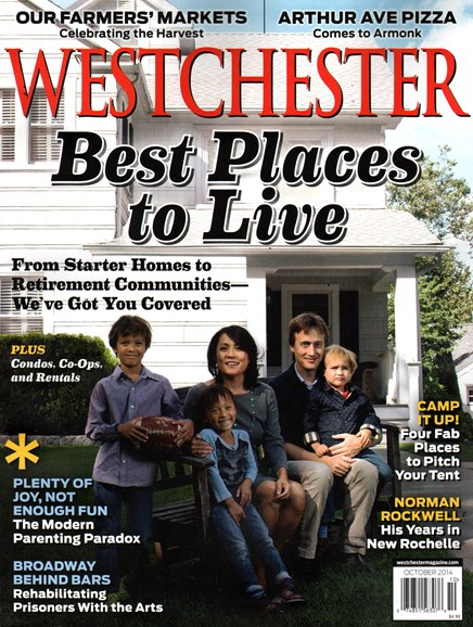 Westchester Magazine Cover - 10/1/2014