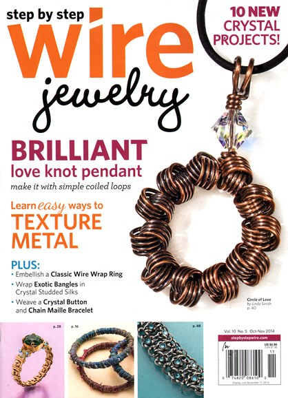 Step By Step Wire Jewelry Cover - 10/1/2014