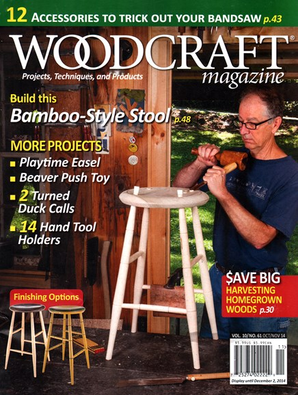 Woodcraft Cover - 10/1/2014