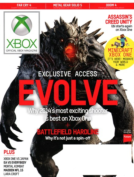 Official Xbox Magazine Cover - 10/1/2014