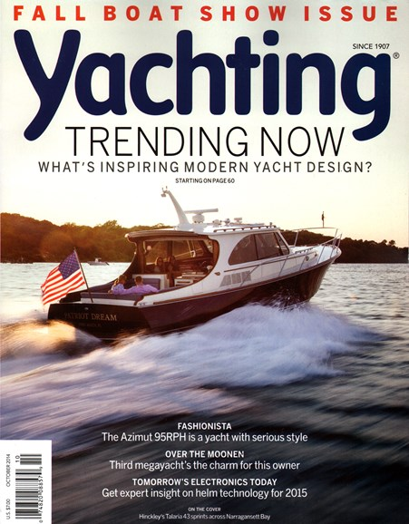 Yachting Cover - 10/1/2014