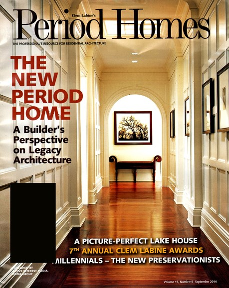 Period Homes Cover - 9/1/2014