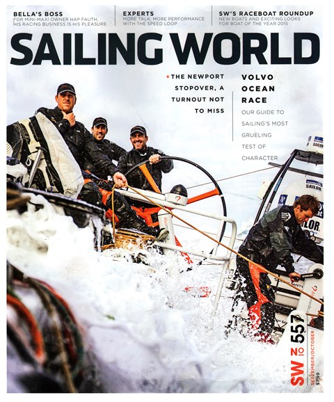 Sailing World Cover - 9/1/2014