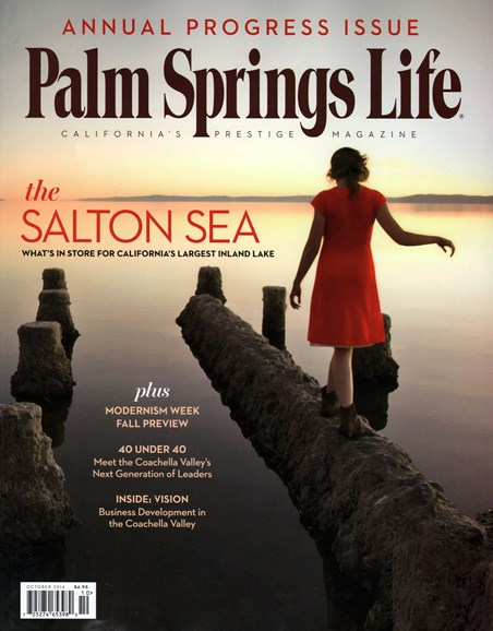 Palm Springs Life Cover - 10/1/2014