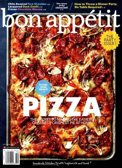 Bon Appétit Cover - 10/1/2014
