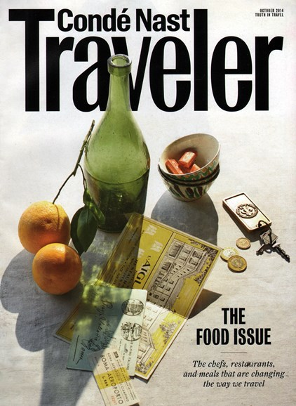Condé Nast Traveler Cover - 10/1/2014