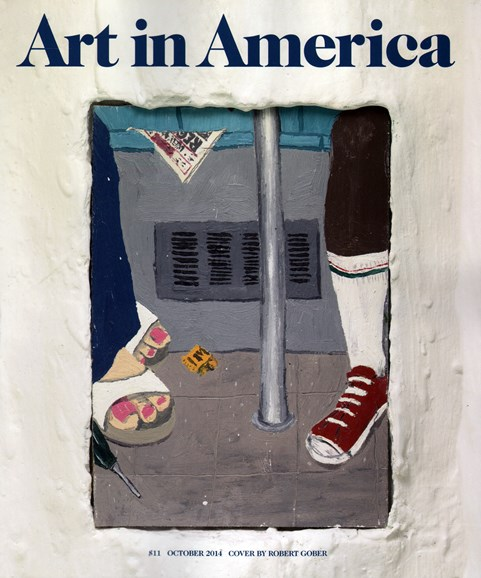 Art In America Cover - 10/1/2014