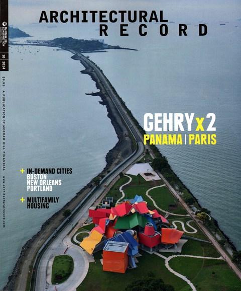 Architectural Record Cover - 10/1/2014