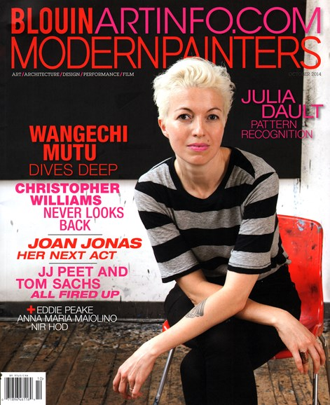Blouin Modern Painters Cover - 10/1/2014