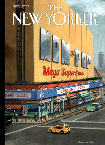 The New Yorker Cover - 10/13/2014