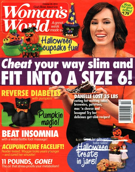 Woman's World Cover - 10/20/2014
